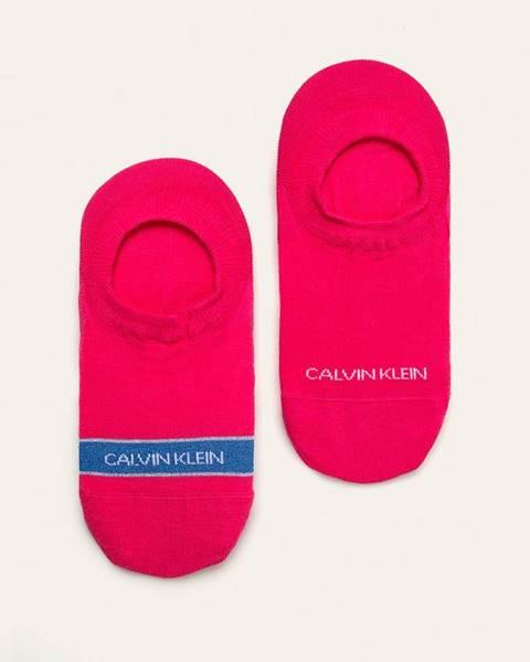 Růžové spodní prádlo Calvin Klein