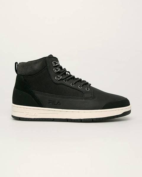 Černé boty fila