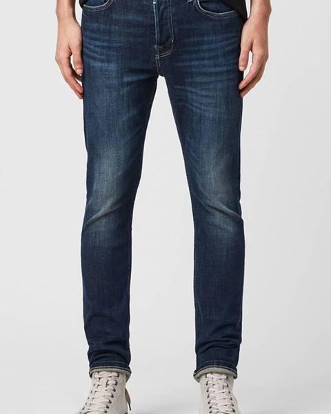 Modré kalhoty AllSaints