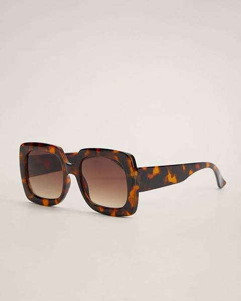 Hnědé brýle Mango