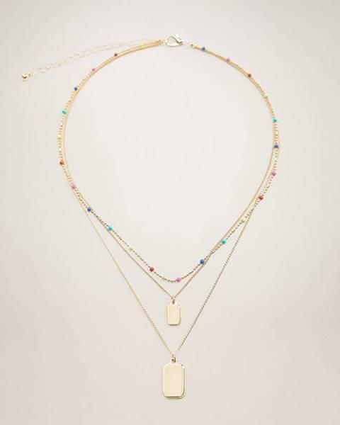 Zlatý náhrdelník Mango