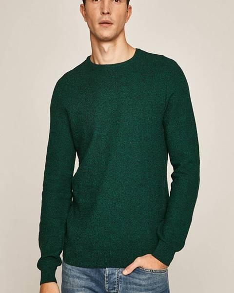 Zelený svetr MEDICINE