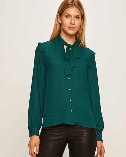 Zelená halenka pepe jeans