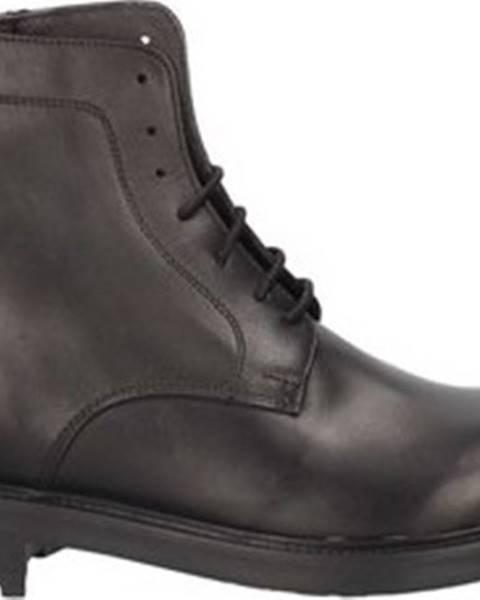 Černé boty L'homme National
