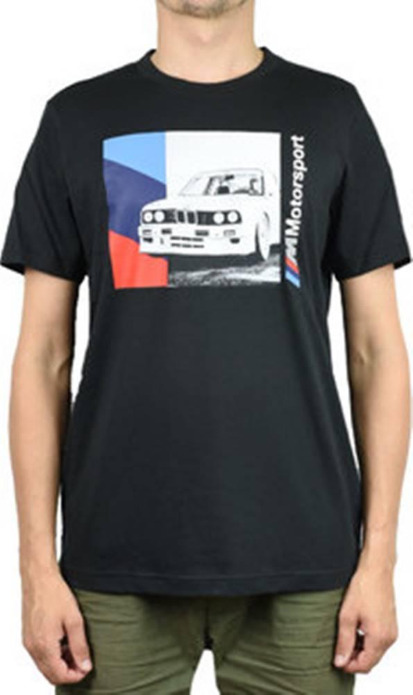 puma Trička s krátkým rukávem BMW Motorsport Graphic Tee 596102-01 ruznobarevne