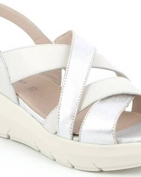 Bílé sandály Grunland