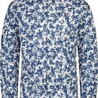 Napapijri Košile s dlouhymi rukáv NP0A4E2W Modrá