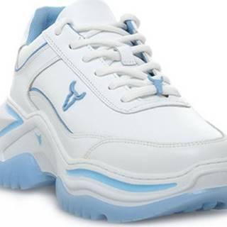 Tenisky CHAOS BRAVE WHITE SKY BLUE Bílá