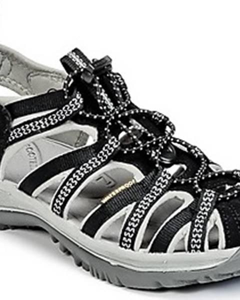 Černé sandály keen