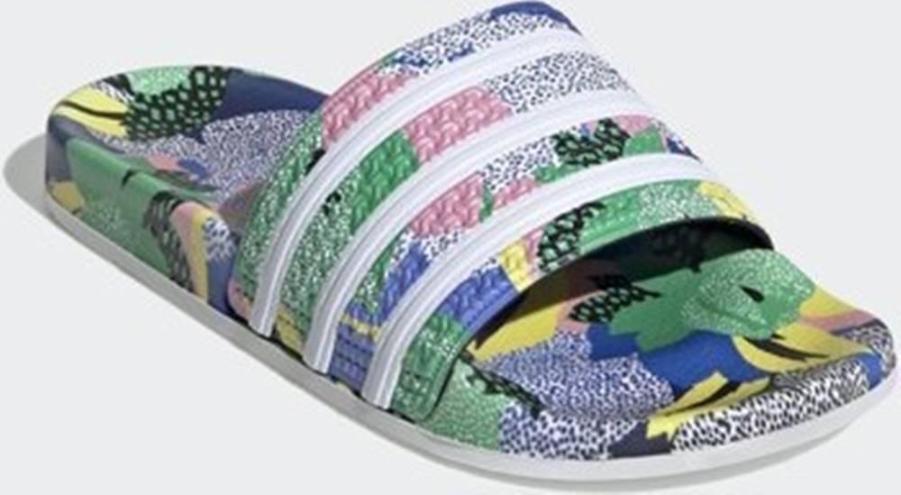 adidas adidas pantofle Pantofle Adilette Modrá