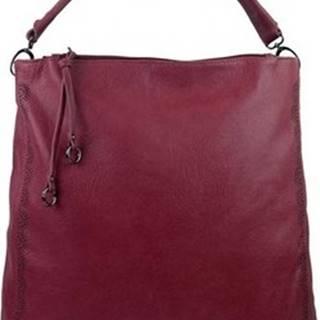 Bella Belly Kabelky s dlouhým popruhem VELKÁ moderní dámská kabelka 5134-BB vínová / bordo ruznobarevne