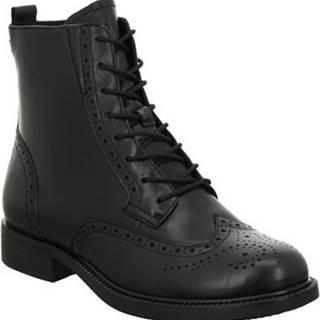 Kotníkové boty 112510625001 Černá