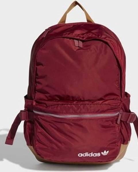 Červený batoh adidas