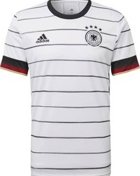 Bílé tričko adidas