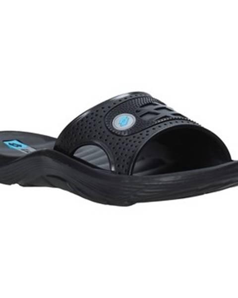 Černé pantofle Lotto