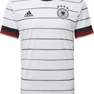 adidas Trička s krátkým rukávem Domácí dres Germany Bílá