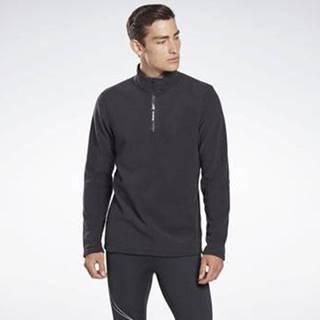 Svetry Outerwear Quarter-Zip Top Černá