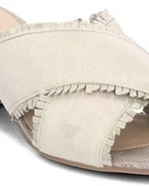 Béžové pantofle Igi&co