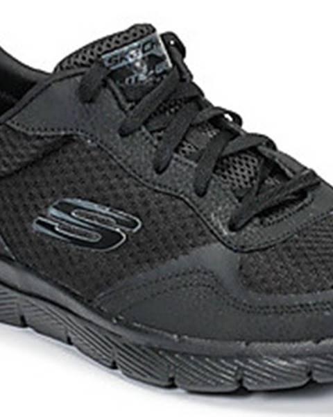 Černé boty Skechers