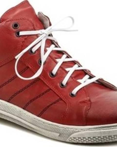 Červené boty Kristofer