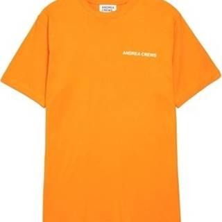 Trička s krátkým rukávem - Oranžová