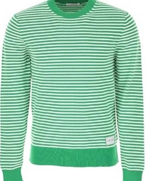 Zelený svetr calvin klein jeans