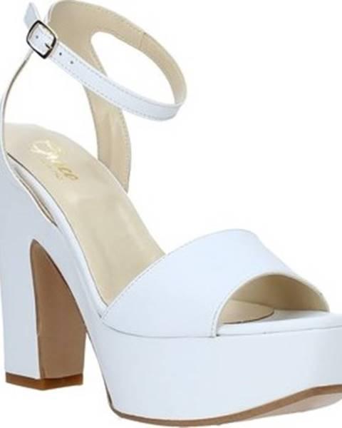 Bílé sandály Grace Shoes