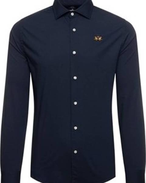 Modrá košile La Martina