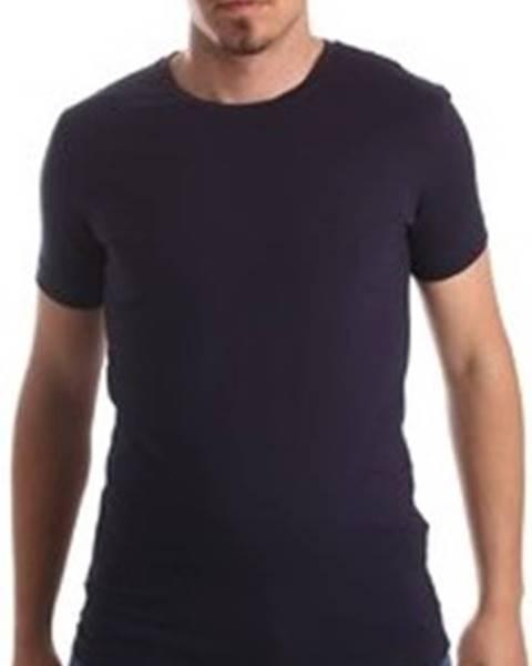 Modré tričko calvin klein jeans