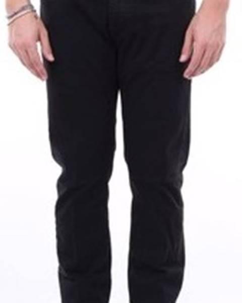 Černé kalhoty Incotex