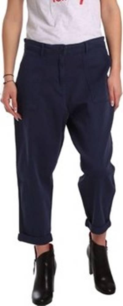 tommy hilfiger Ležérní kalhoty DW0DW02588 Modrá
