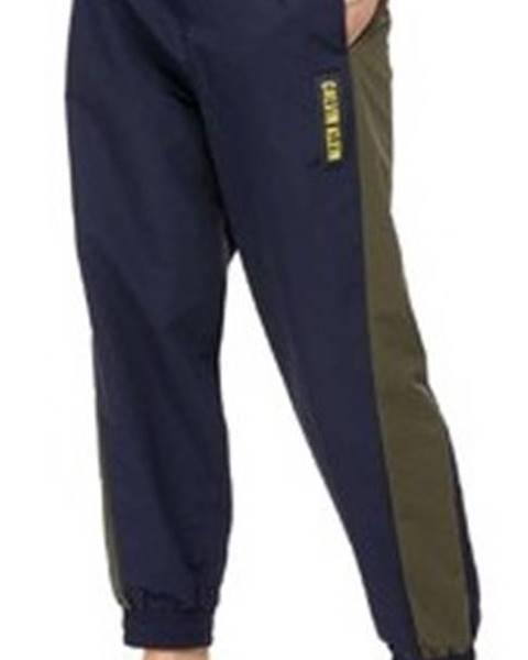 Modré tepláky calvin klein jeans