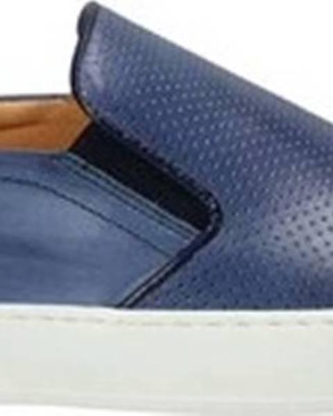 Modré boty Exton