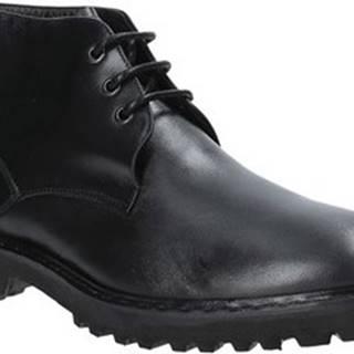 Kotníkové boty 9058 Černá