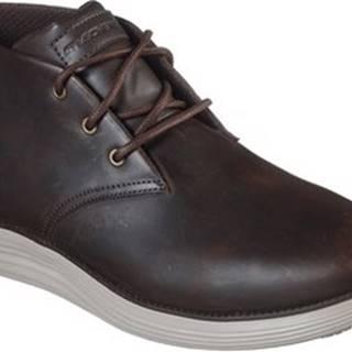Kotníkové boty 66450 Hnědá