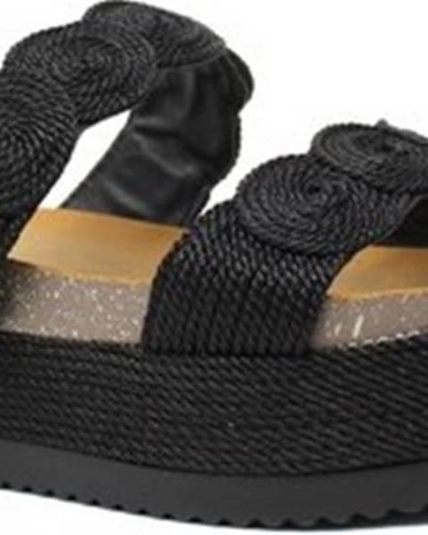 Černé sandály Exé Shoes