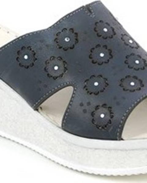 Modré pantofle Grunland