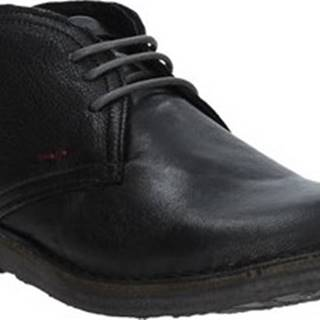 Kotníkové boty 6037 Černá
