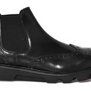 Kotníkové boty 20649 L Černá