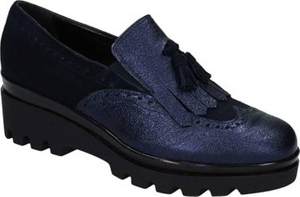 Grace Shoes Mokasíny 2018 Modrá