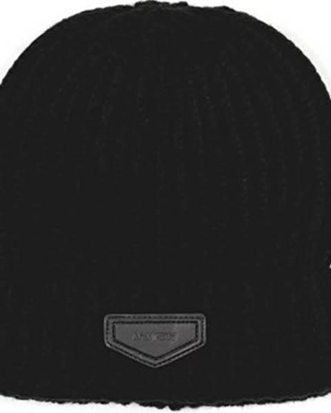Černá čepice Antony Morato