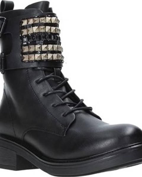 Černé boty Gold gold