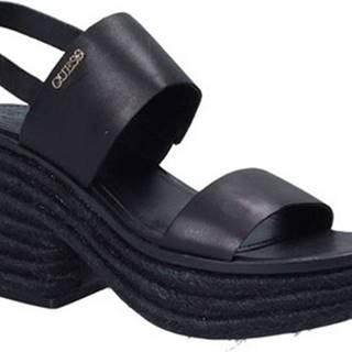 Sandály FLNIN2 LEA03 Černá
