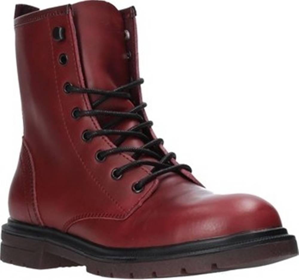 wrangler Kotníkové boty WL92592A Červená