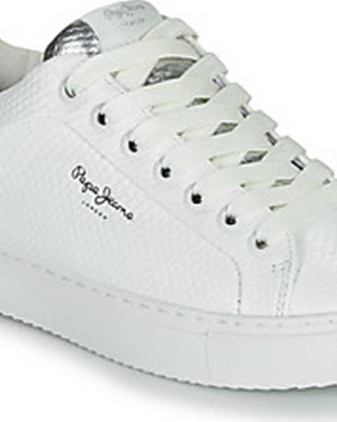 Bílé tenisky pepe jeans