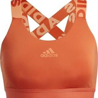 adidas Sportovní podprsenky Podprsenka Don't Rest Branded Oranžová