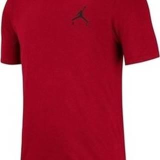 Trička s krátkým rukávem Air Jordan Jumpman Embroidered Červená
