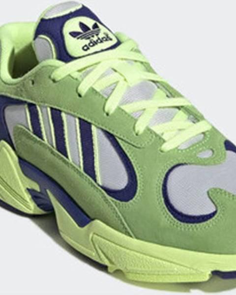 Zelené boty adidas