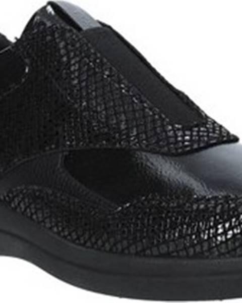 Černé boty Stonefly