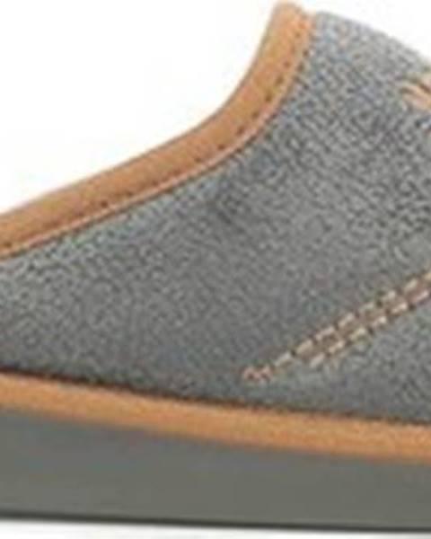 Černé domácí boty Susimoda